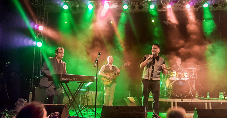 Jesse Wagner And The Badasonics at Freedom Sounds Festival 2019