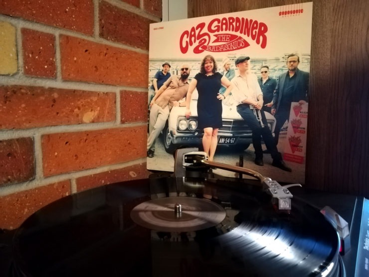 Caz Gardiner And The Badasonics vinyl record
