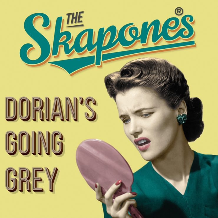 """Cover of The Skapones single """"Dorian's Going Grey"""""""