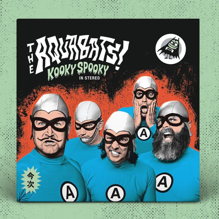 The Aquabats - Kooky Spooky​.​.​. in Stereo! - cover