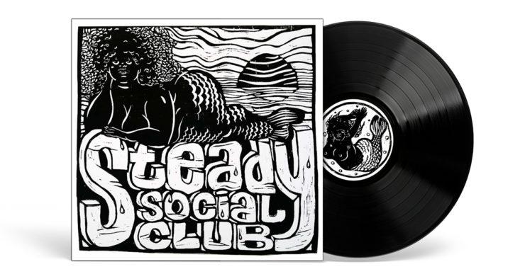 """Steady Social Club """"Take One"""" vinyl cover"""