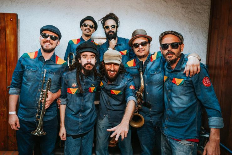 Brazilian reggae band Buena Onda Reggae Club