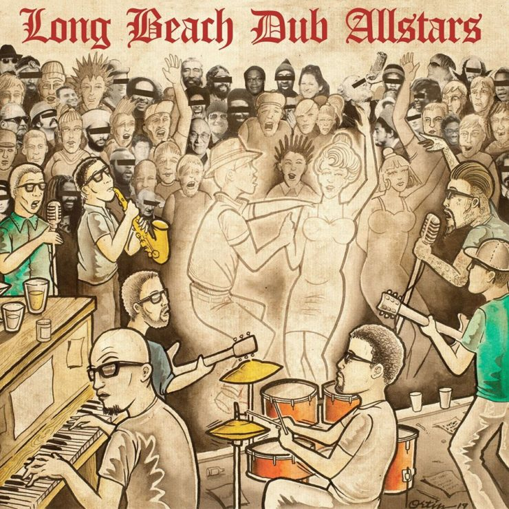 Long Beach Dub Allstars - self titled - cover