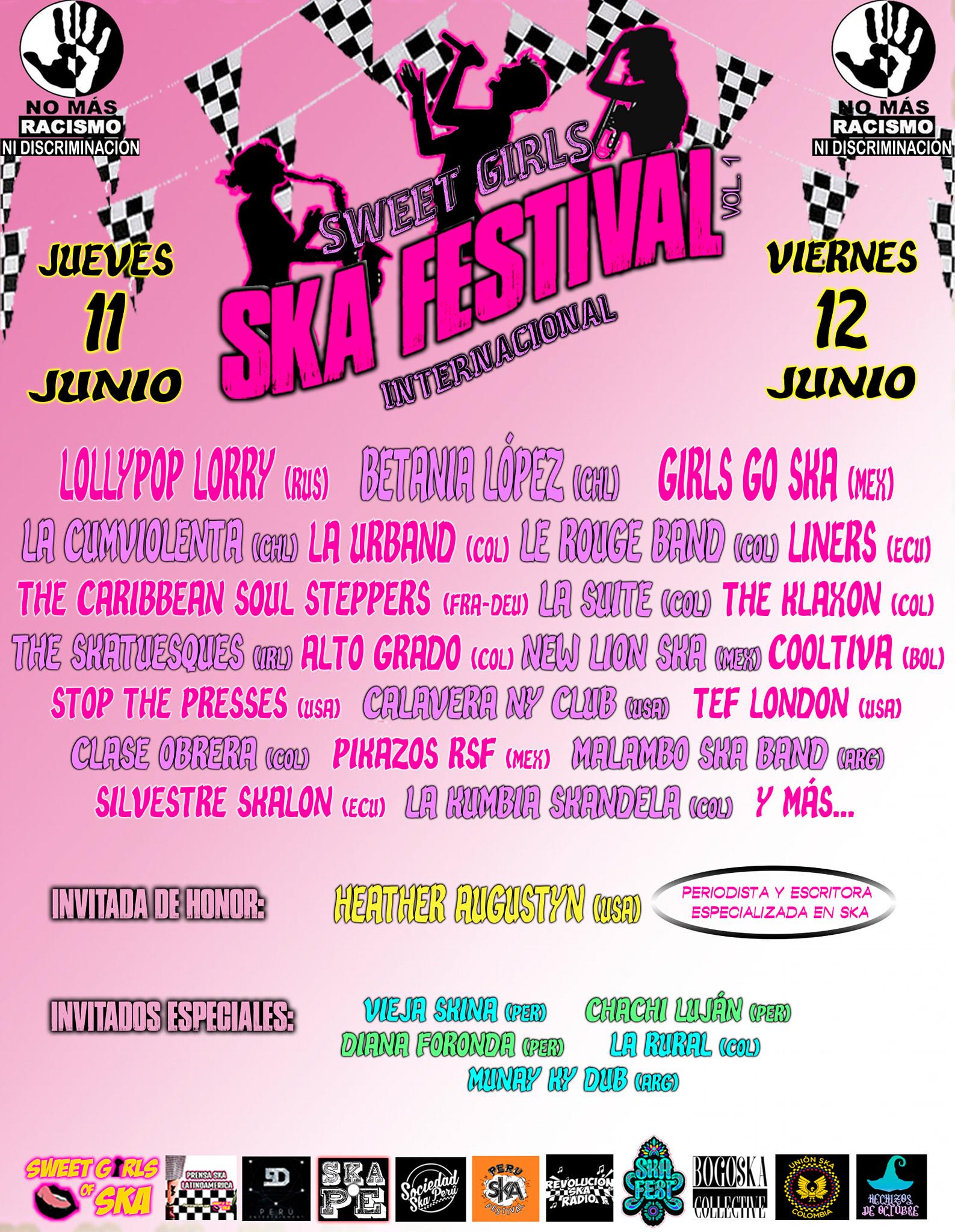 Poster of Sweet Girls Ska Festival